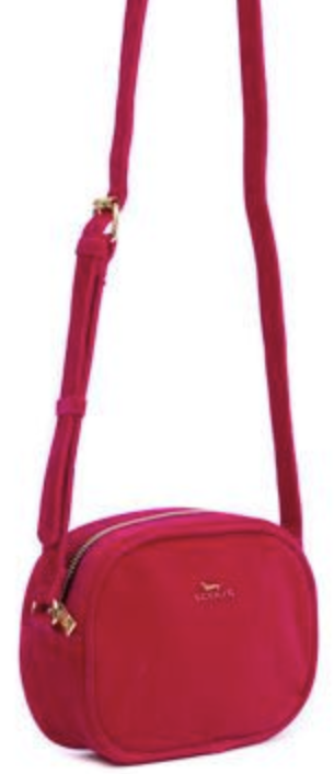 Scout Bags Sonja-Hot Pink Velvet