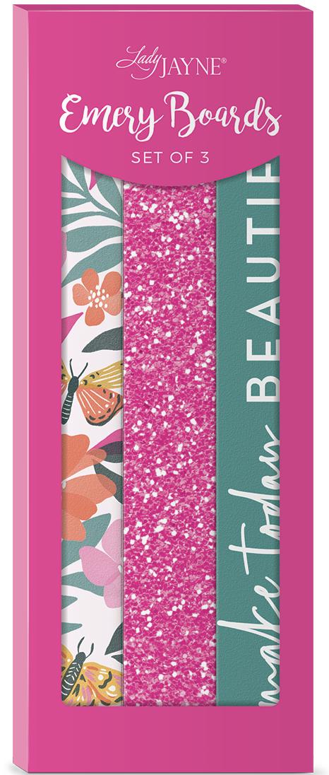 Lady Jayne Butterflies Nail File-Set of 3