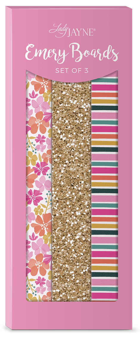 Lady Jayne Ditsy Floral Nail File-Set of 3