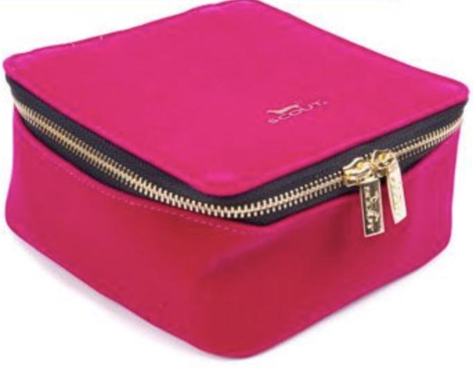 Scout Bags Hidden Gem-Hot Pink Velvet