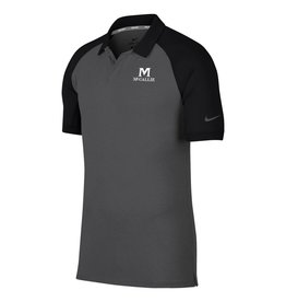 NIKE MEN'S NIKE DRY RAGLAN POLO -Black