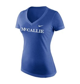 NIKE WOMEN'S NIKE BLUE TRI-BLEND T-SHIRT