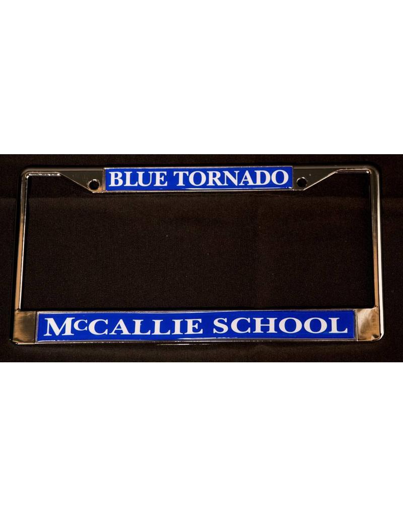 BLUE TORNADO LICENSE TAG FRAME