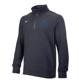 NIKE STADIUM 1/4 ZIP FLEECE -Gray