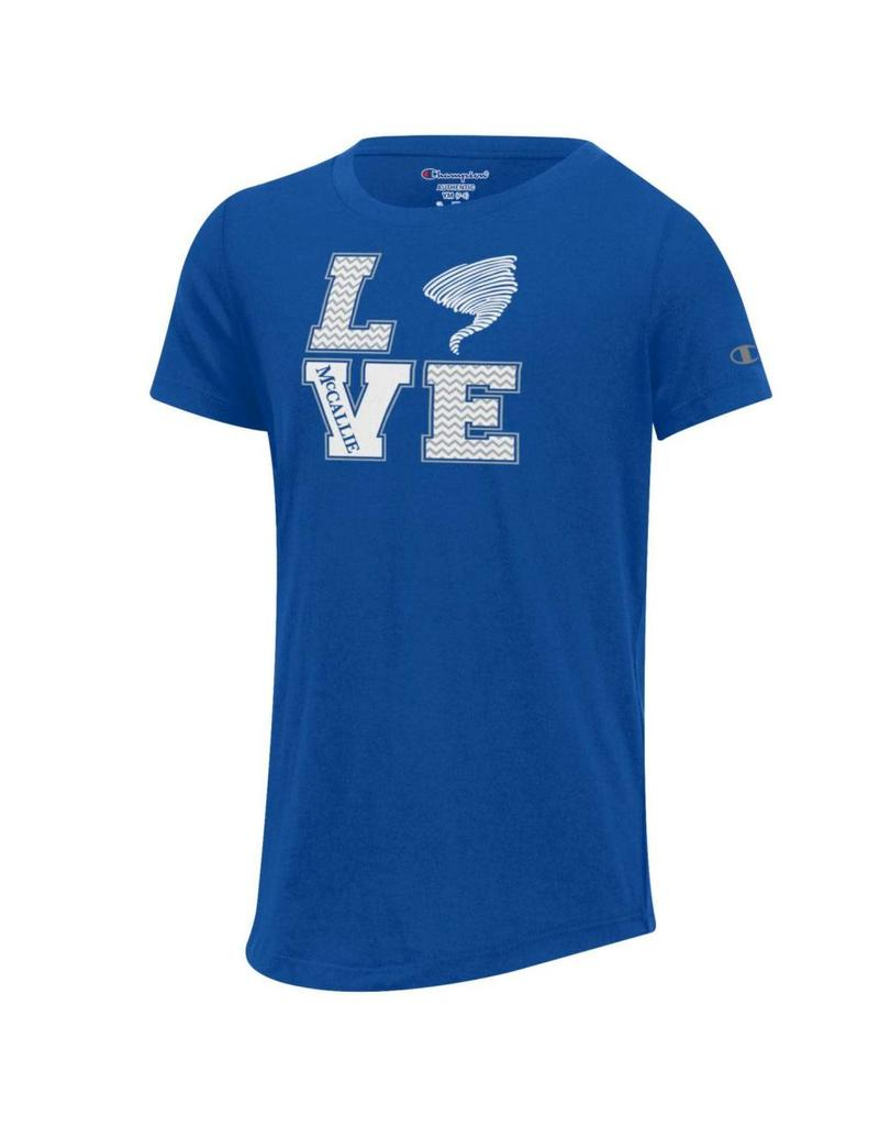 CHAMPION GIRL'S LOVE T-SHIRT