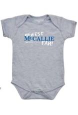 INFANT NEWEST FAN ONESIE