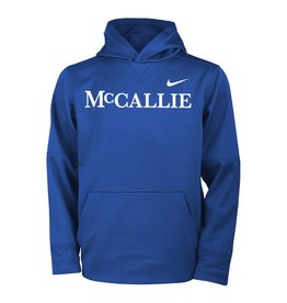 YOUTH NIKE ROYAL THERMA HOODIE