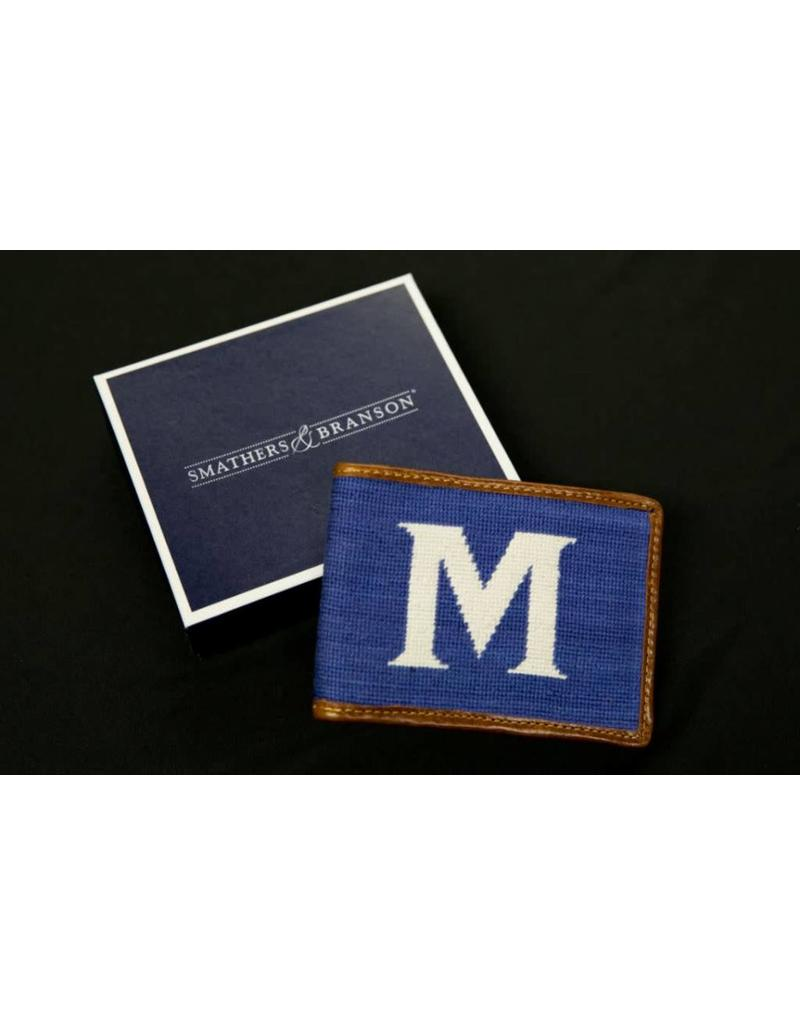 S&B NEEDLEPOINT WALLET