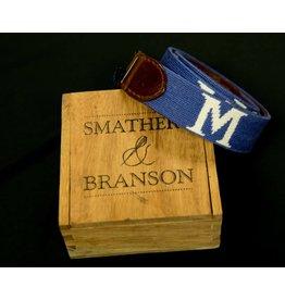 SMATHERS & BRANSON S&B NEEDLEPOINT BELT