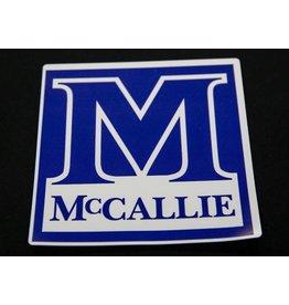 MCCALLIE CAR MAGNET