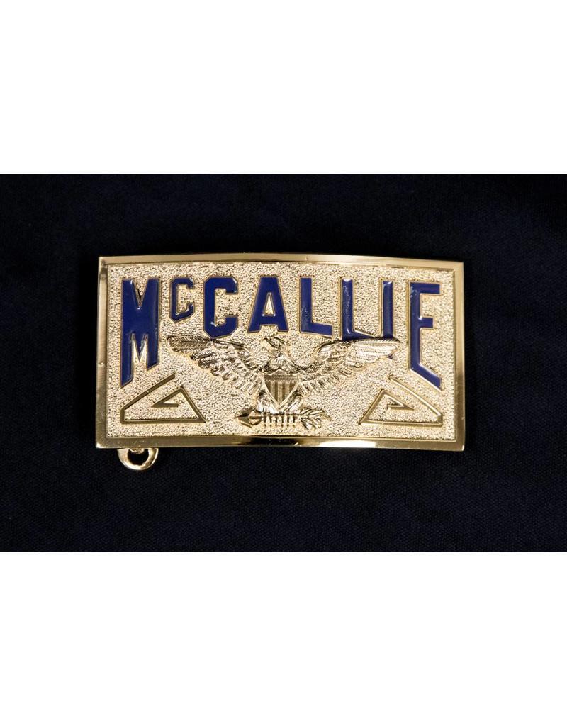 MCCALLIE BELT BUCKLE