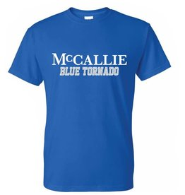 BASIC BLUE TORNADO T-SHIRT
