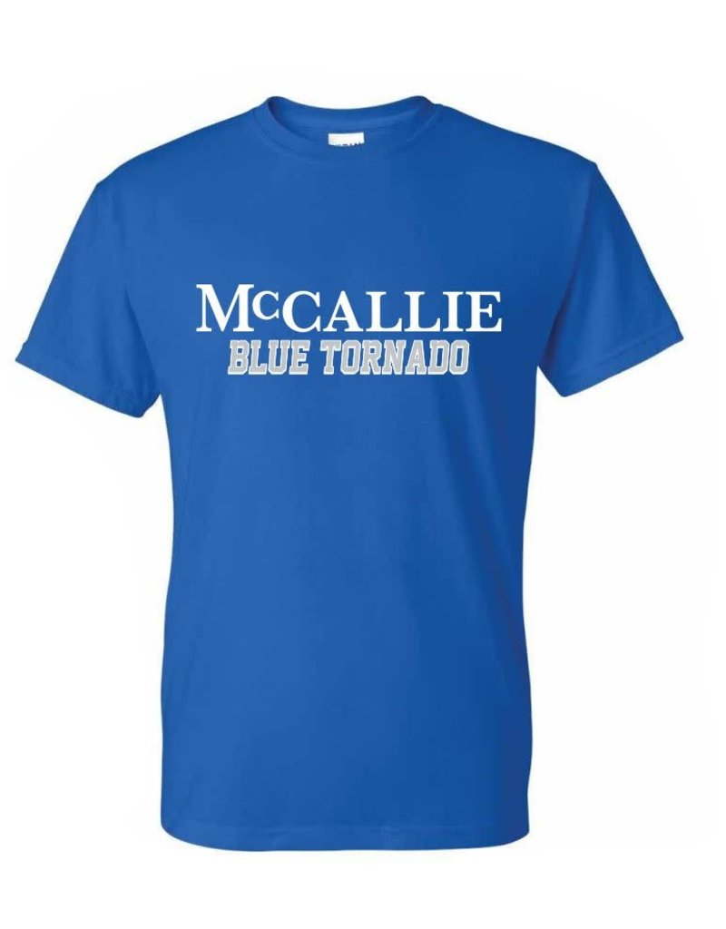 BASIC BLUE TORNADO T-SHIRT