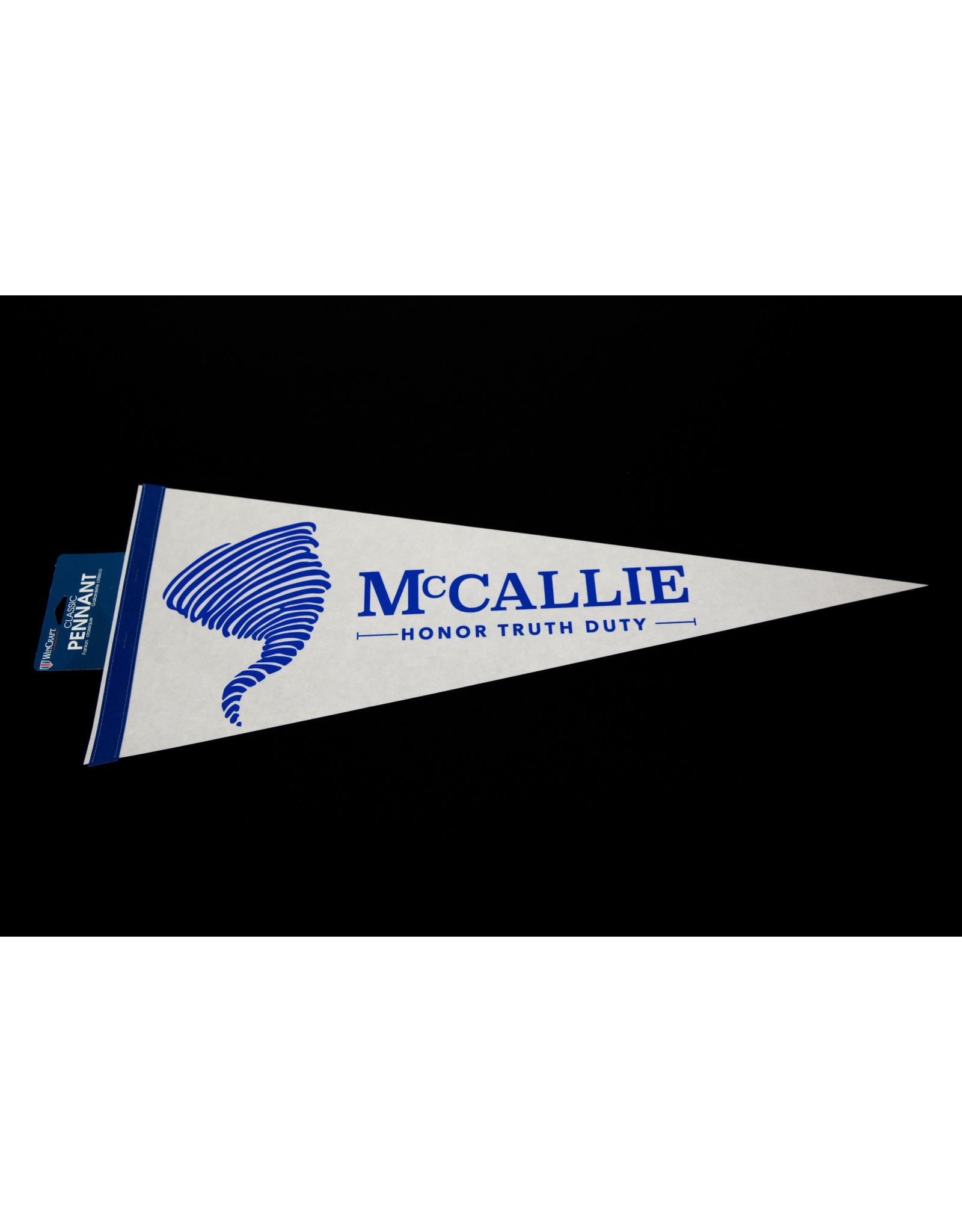 MCCALLIE PENNANT 12X30