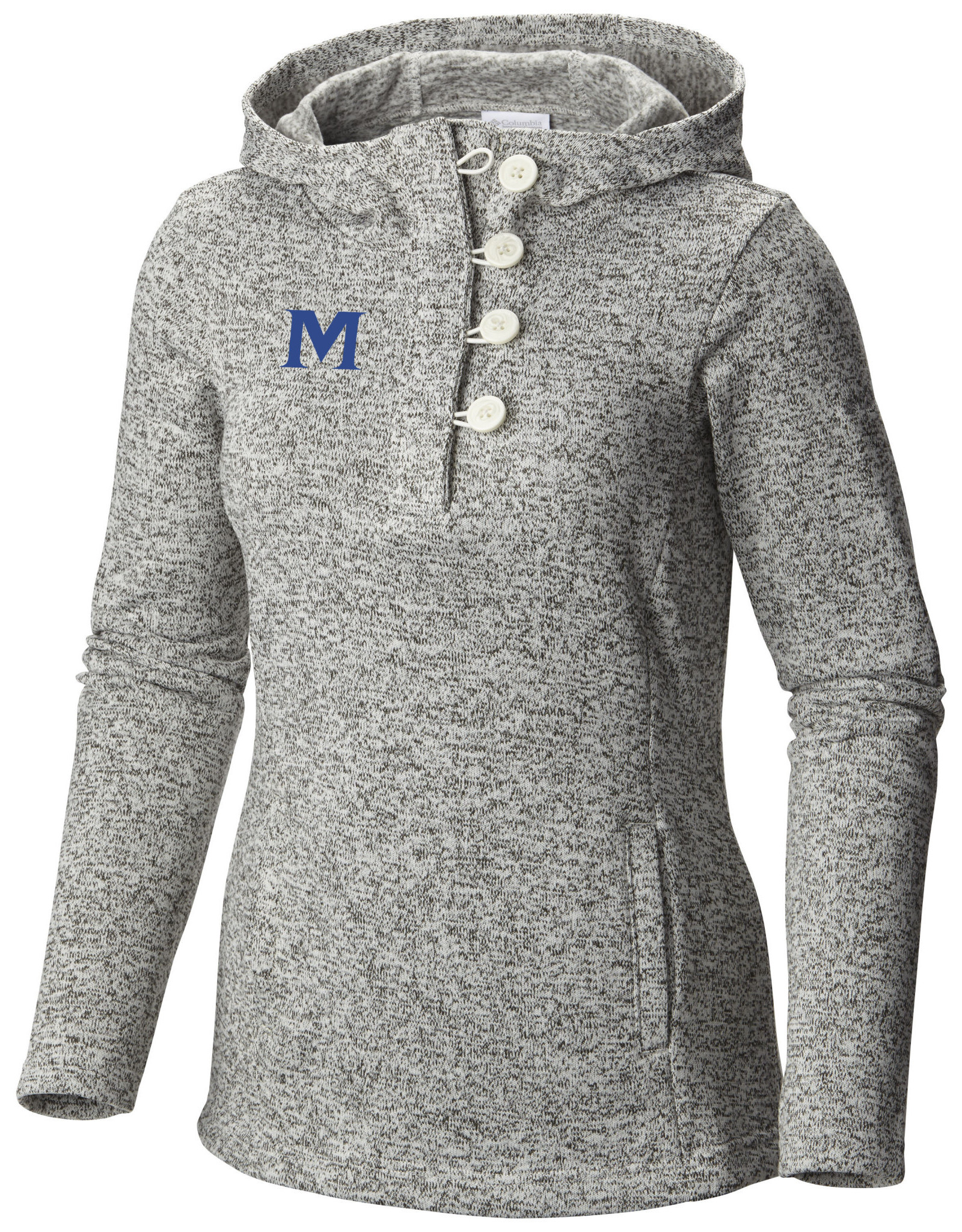 WOMEN'S COLUMBIA SWEATER HOODIE