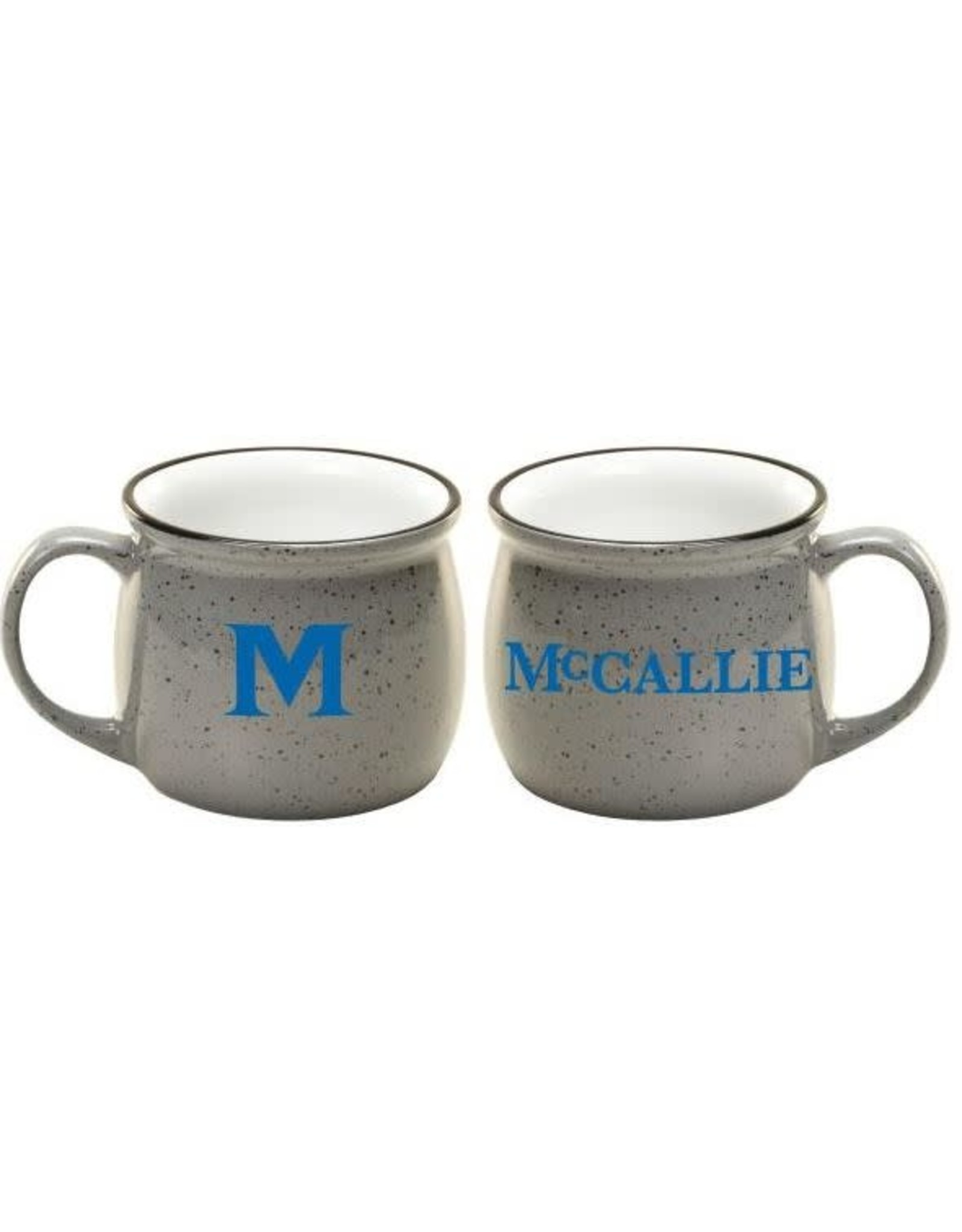 COLONIAL SPECKLED MUG- Gray