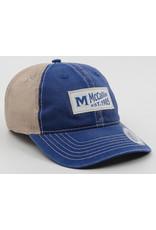 BLUE VINTAGE PATCH CAP