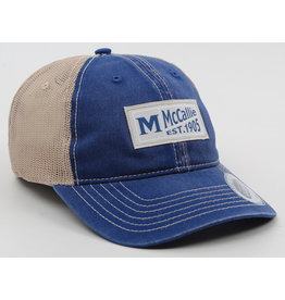 BLUE VINTAGE PATCH CAP