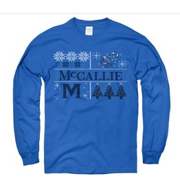 MCCALLIE WINTRY MIX LS SHIRT