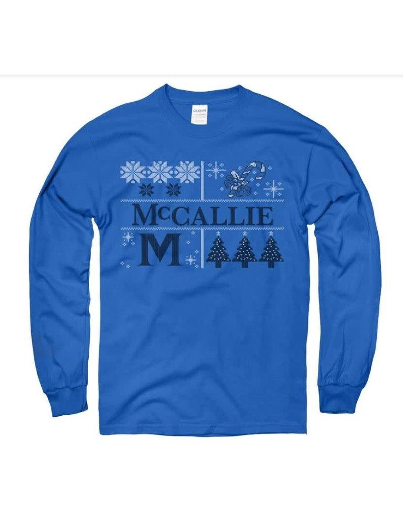 MCCALLIE WINTRY MIX LS SHIRT