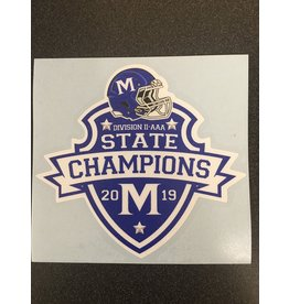 STATE CHAMPS DECAL