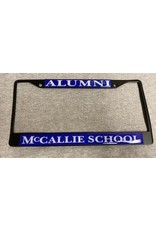 ALUMNI LICENSE TAG FRAME- BLACK