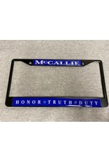HTD LICENSE TAG FRAME- BLACK