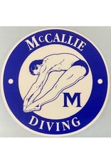 DIVING DECAL
