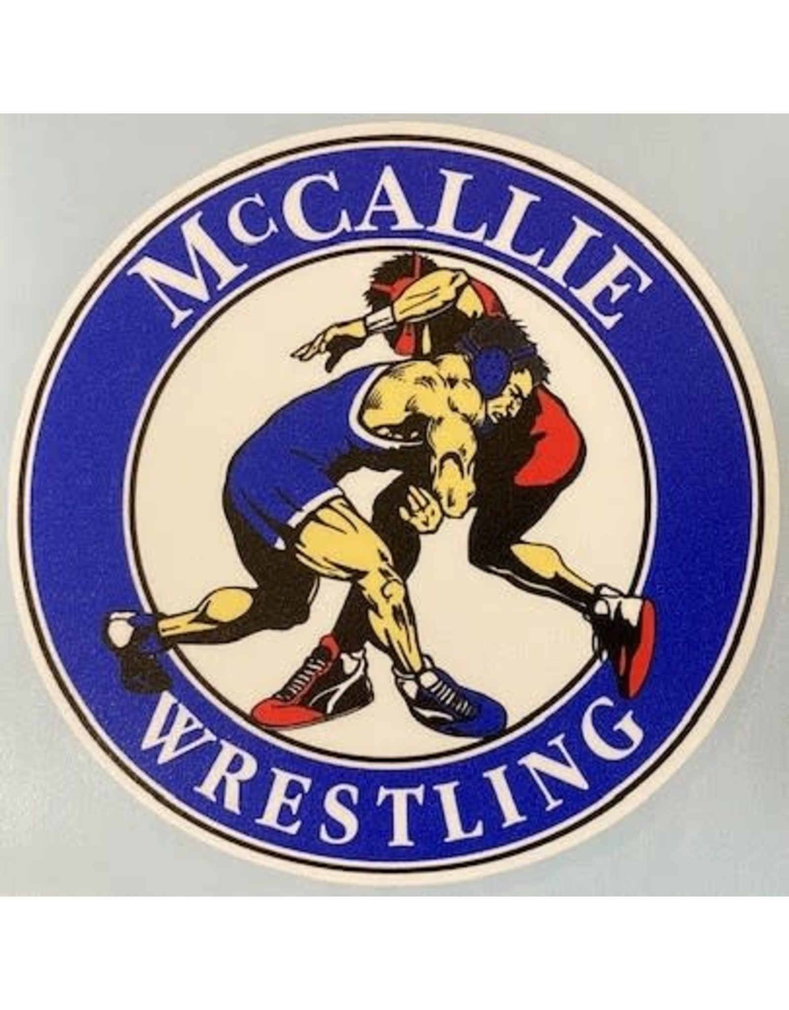 WRESTLING DECAL