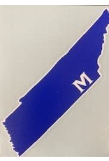 TENNESSEE M DECAL
