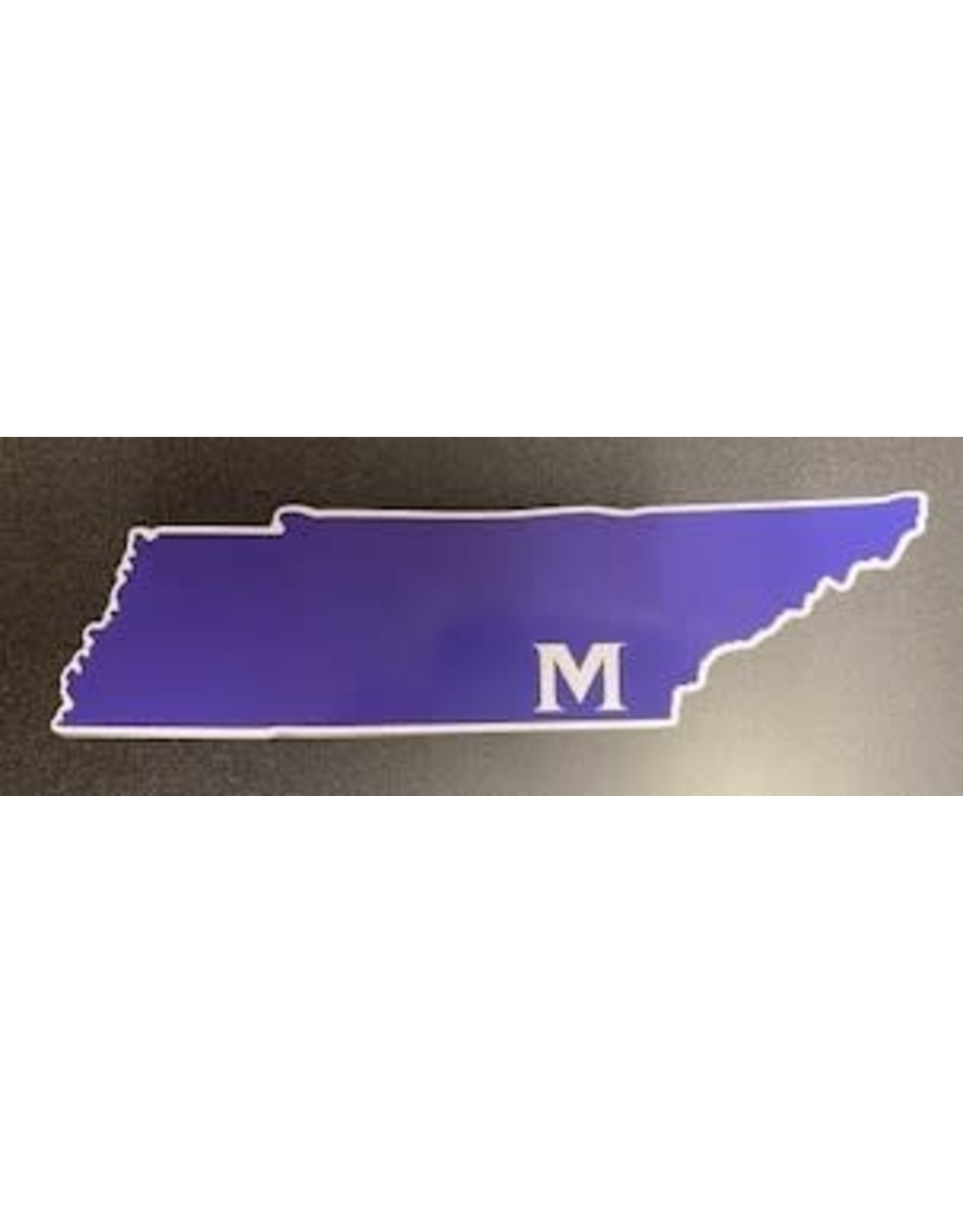 TENNESSEE M CAR MAGNET