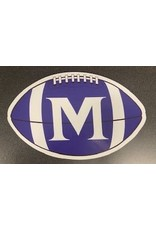 FOOTBALL CAR MAGNET