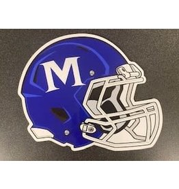 FOOTBALL HELMET CAR MAGNET