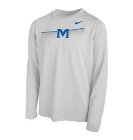 YOUTH NIKE STRIPE M LS T-SHIRT