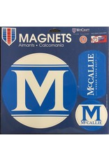 MCCALLIE CAR MAGNET PACK