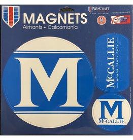 MCCALLIE CAR MAGNET PACK