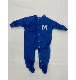 LITTLE KING FOOTED ROMPER