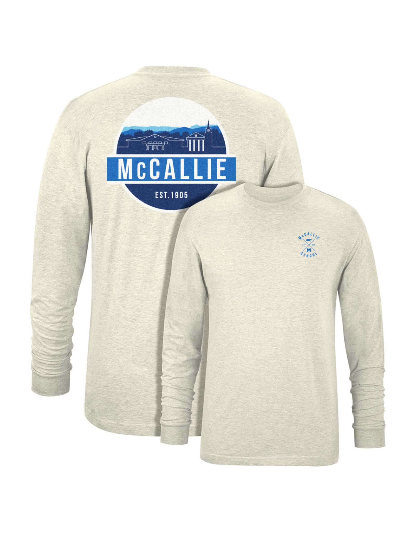 USCAPE LONG SLEEVE SKYLINE T-SHIRT