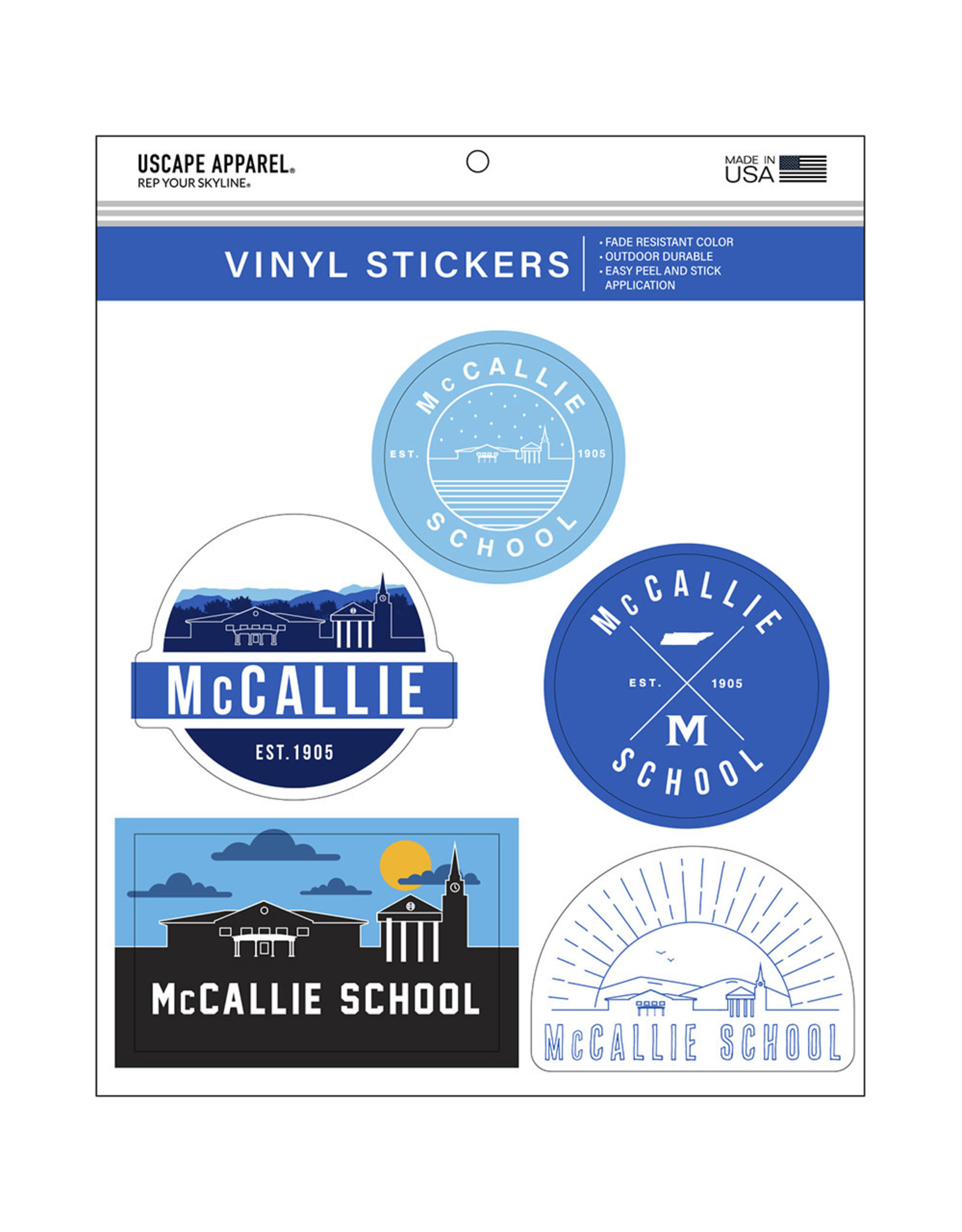 SKYLINE STICKER PACK