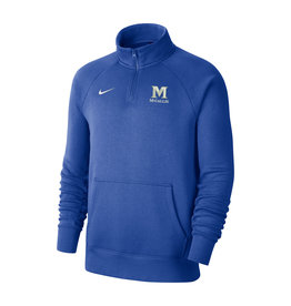 NIKE ROYAL CLUB 1/4 ZIP