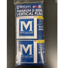 TWO SIDED FLAG MCCALLIE