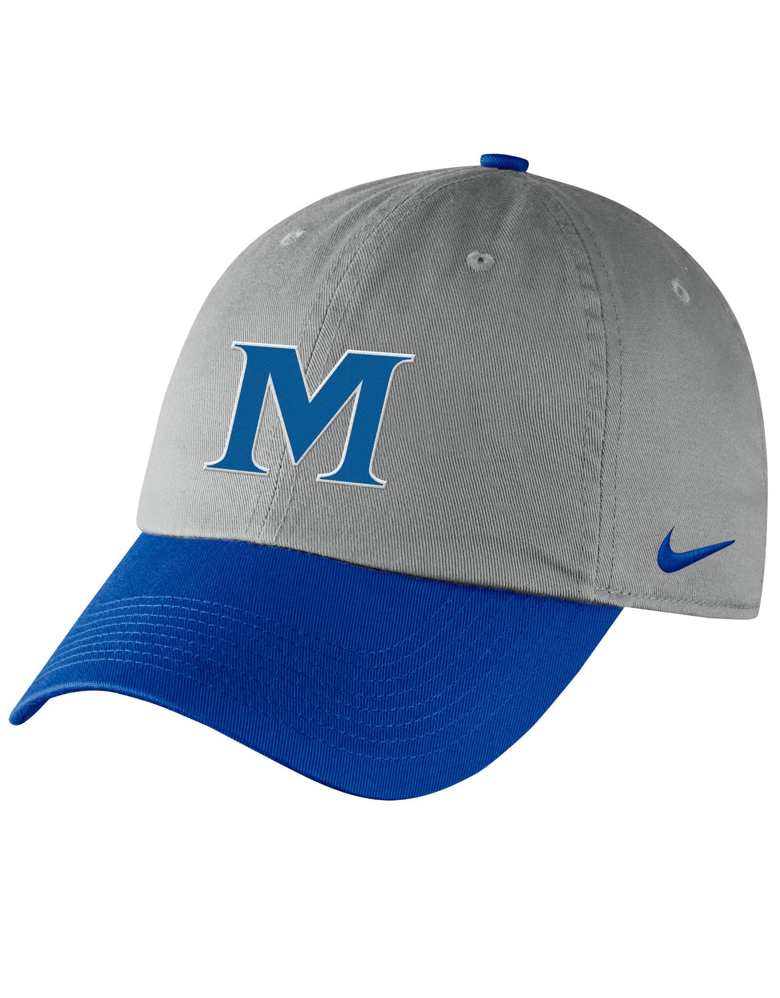 NIKE YOUTH ADVISOR CAP Pewter\Blue