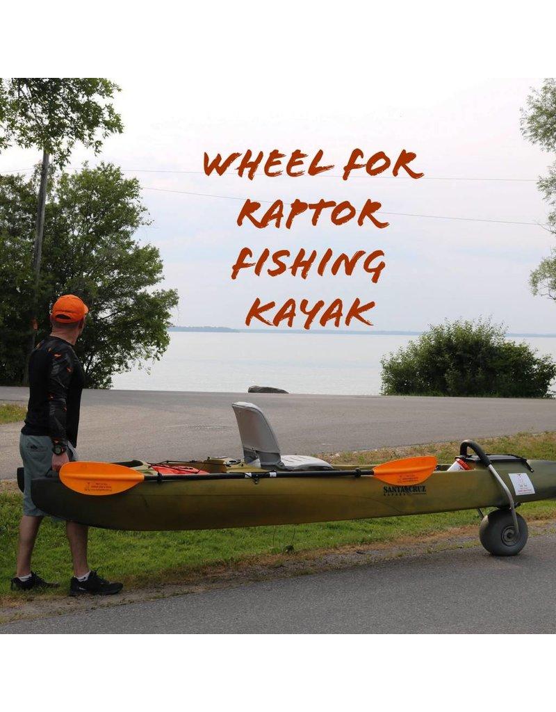 Raptor Kayaks Canada Kayak transport cart - Wheel