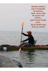 Santa Cruz Kayaks Raptor G1 Sit on Top Kayak with Comfort Seat and Seat Base Adapter installed