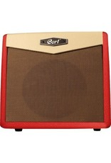 Cort Cort CM15R Guitar Amp, Dark Red