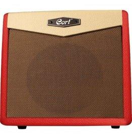 Cort CM15R Guitar Amp, Dark Red
