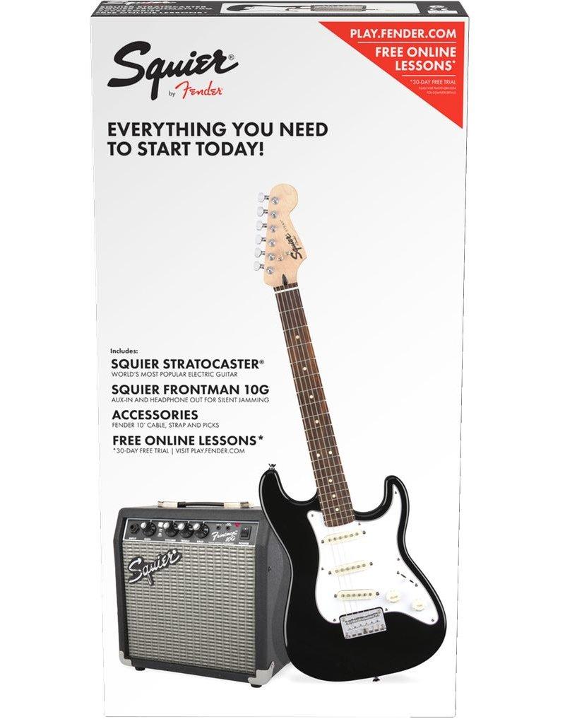 Fender Strat Pack (Short-Scale) Black
