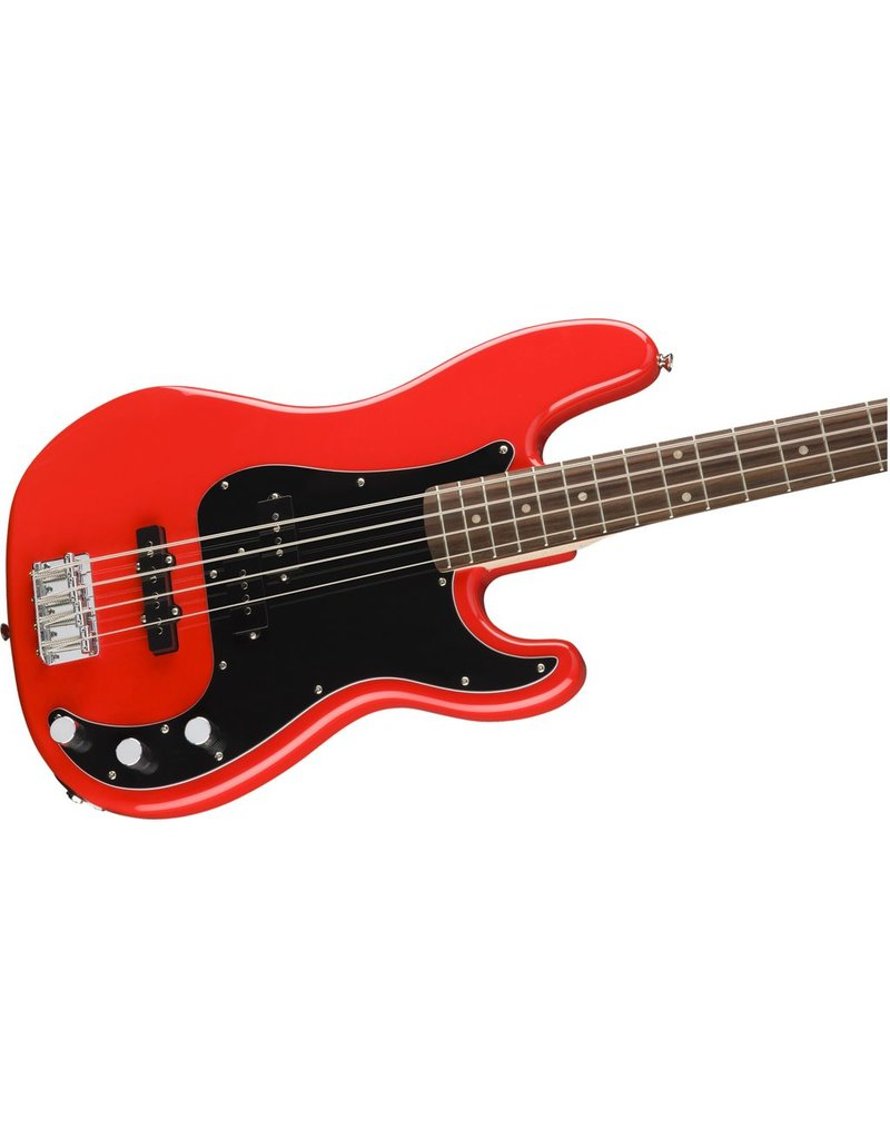 Squier Affinity PJ Bass, Race Red