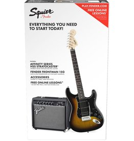 Fender Affinity Strat Pack Brown Sunburst