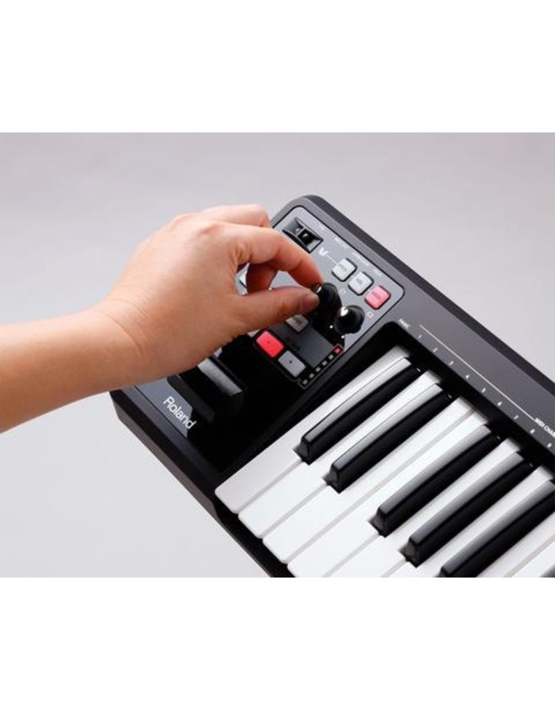 Roland Roland A49 USB MIDI Controller (Black)
